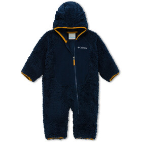Columbia Foxy Baby Sherpa Bunting Overall Baby, collegiate navy/ canyon gold